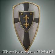 Charlemagne_Shield 3d model