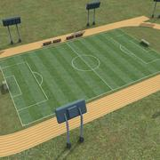 Sports_Soccer-Field_Multi2.zip 3d model