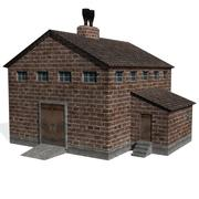 Stamp Mill Factory 3d model