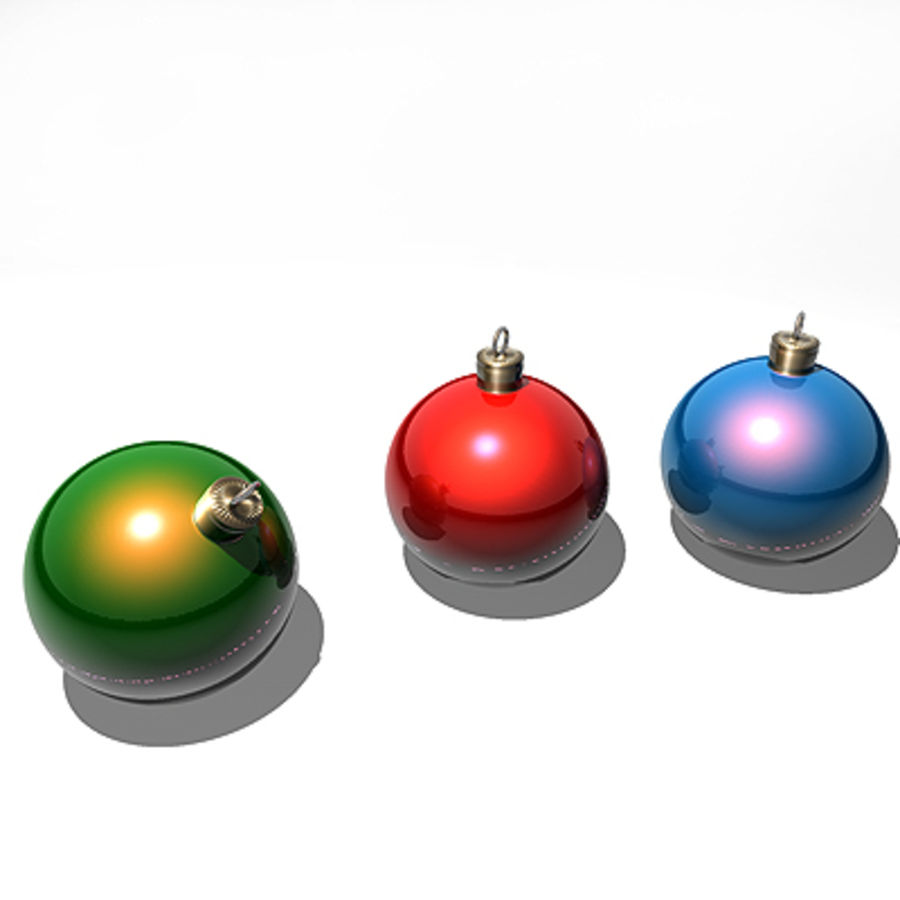 クリスマス royalty-free 3d model - Preview no. 1