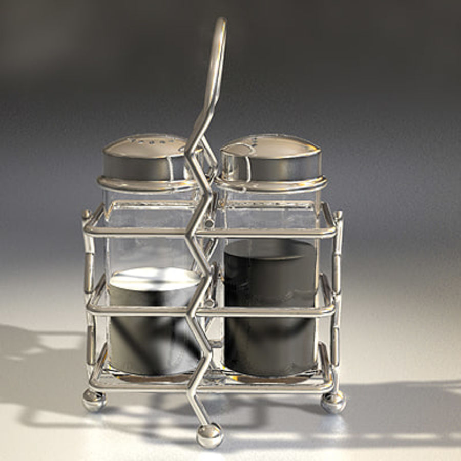 Salt & Pepper royalty-free 3d model - Preview no. 2