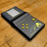Tegel spel 3d model