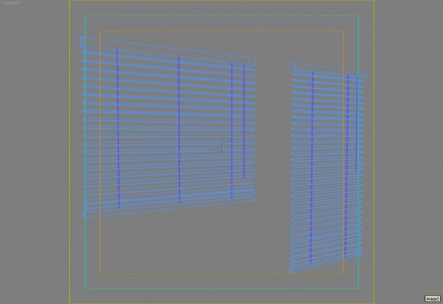 Window blinds lrg.max royalty-free 3d model - Preview no. 1