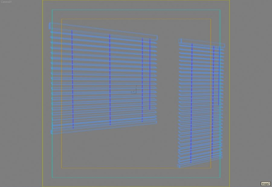 Window blinds lrg.max royalty-free 3d model - Preview no. 2
