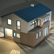 郊外の家 3d model