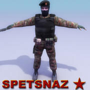 Spetsnaz Soldier 3d model
