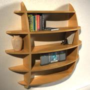 Round Shelves 3d model