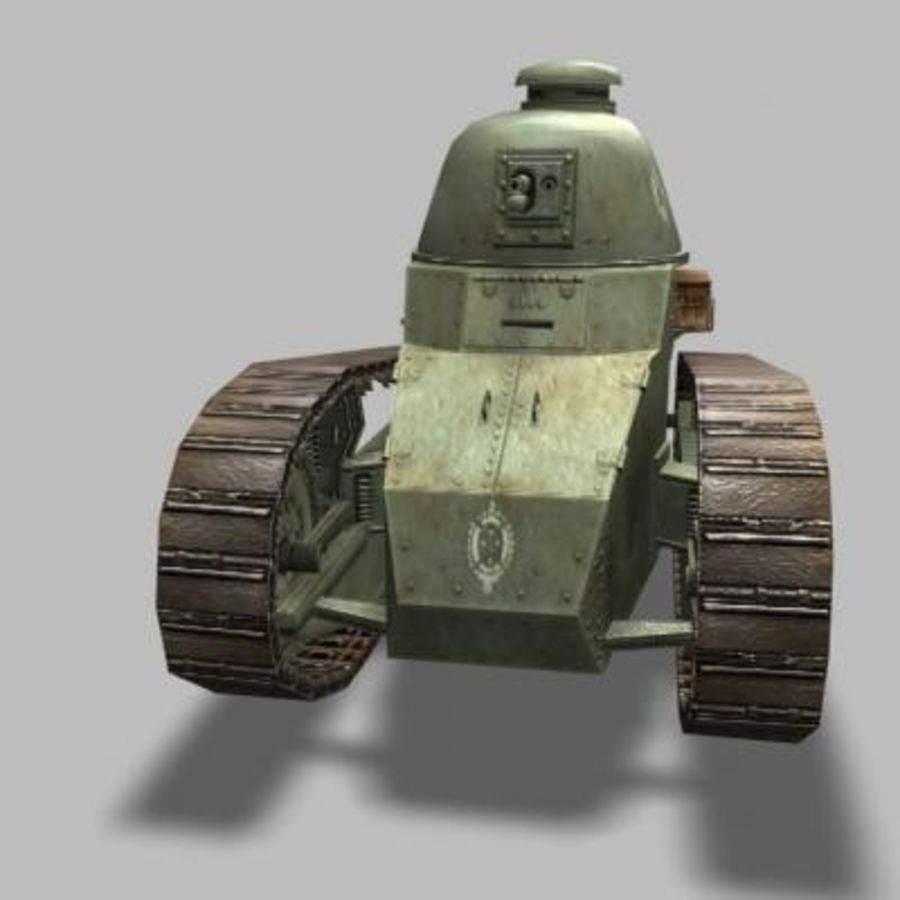 renault_FT_17.zip royalty-free 3d model - Preview no. 5