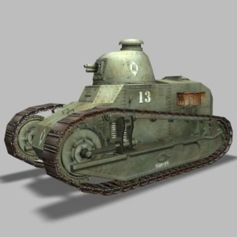 renault_FT_17.zip royalty-free 3d model - Preview no. 1