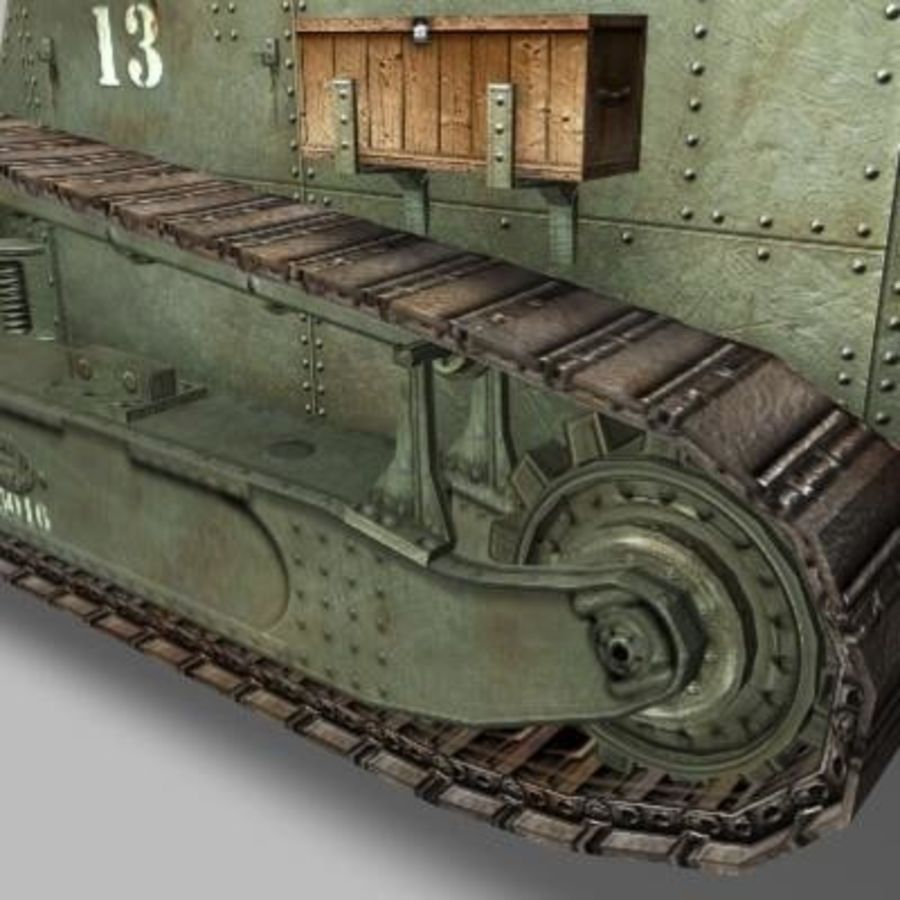 renault_FT_17.zip royalty-free 3d model - Preview no. 7