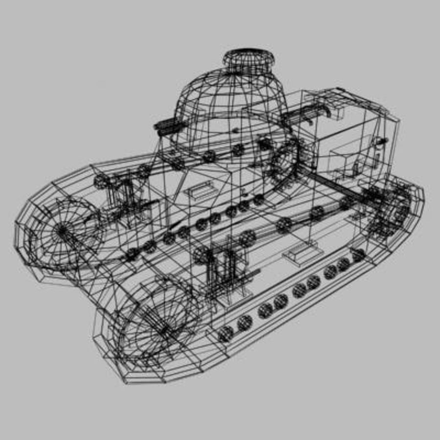 renault_FT_17.zip royalty-free 3d model - Preview no. 10