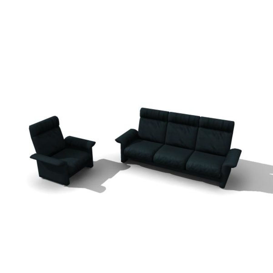 furniture royalty-free 3d model - Preview no. 2