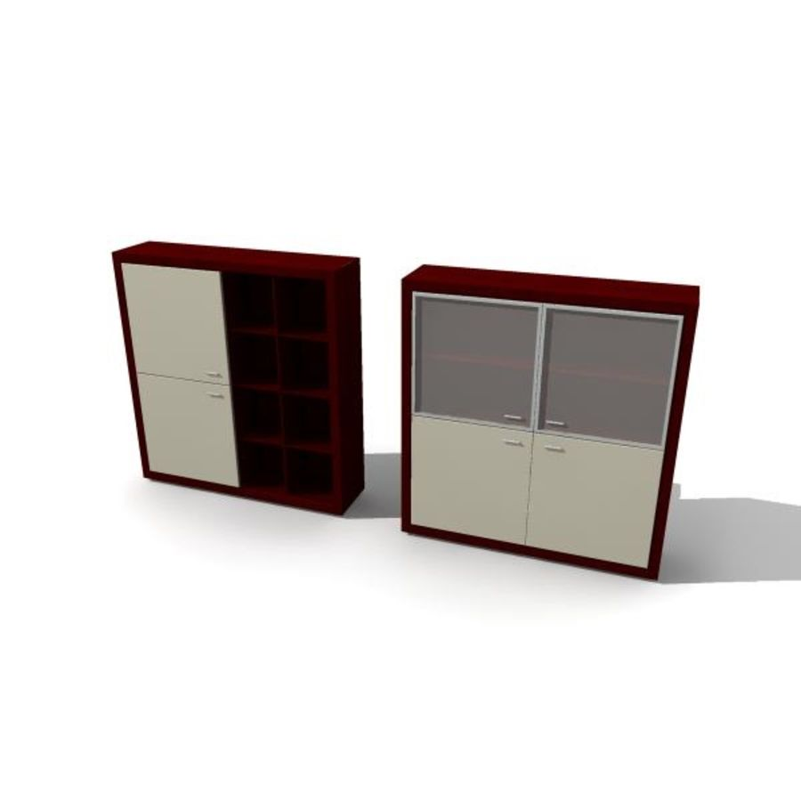 furniture royalty-free 3d model - Preview no. 3