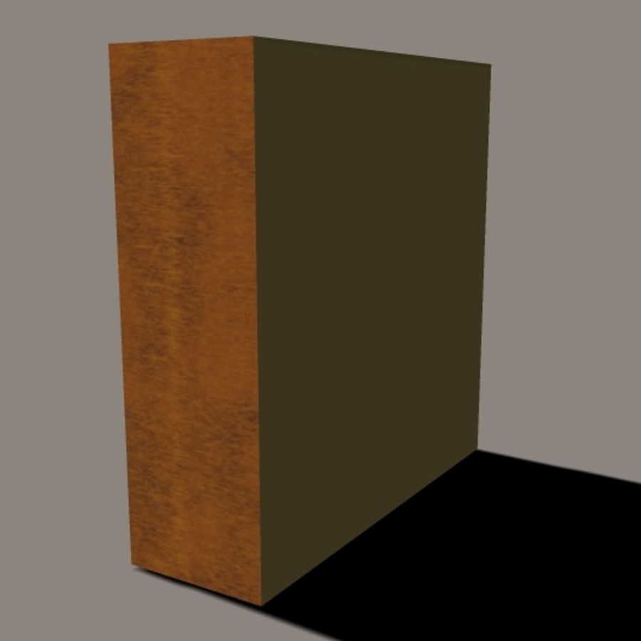 Entertainment Center royalty-free 3d model - Preview no. 3