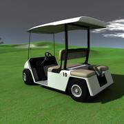 Golf arabası 3d model
