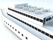 bateau de croisière 3d model