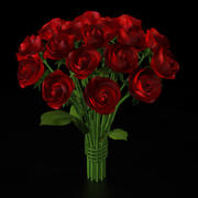 Rose Bouquet 3d model