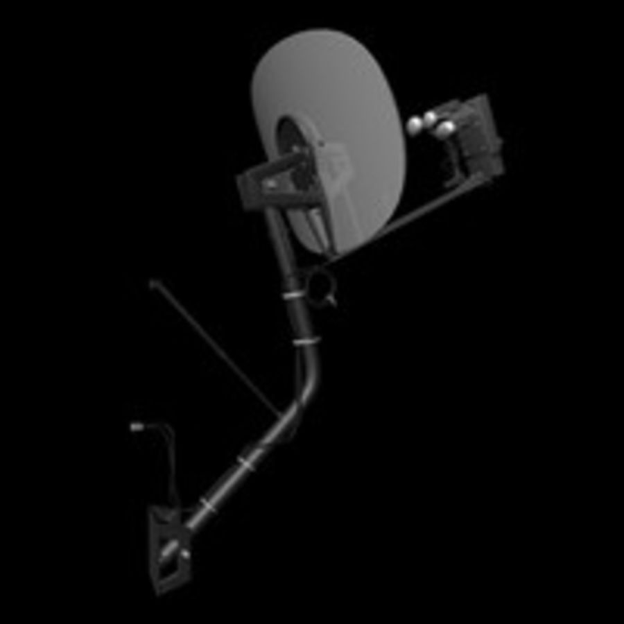 Satellite Dish royalty-free 3d model - Preview no. 2