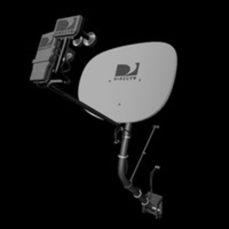Satellite Dish royalty-free 3d model - Preview no. 1