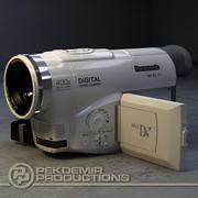 MiniDV-kamera 3d model
