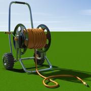 Катушка для садового шланга 3d model