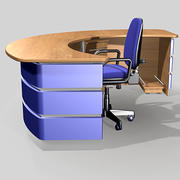 reception desk pls_u 3d model