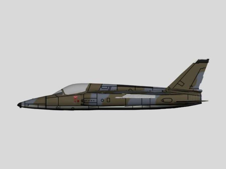 Folland Gnat F1.max royalty-free 3d model - Preview no. 2