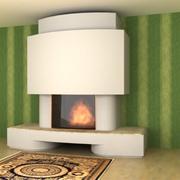 Fireplace MONTFORT 3d model