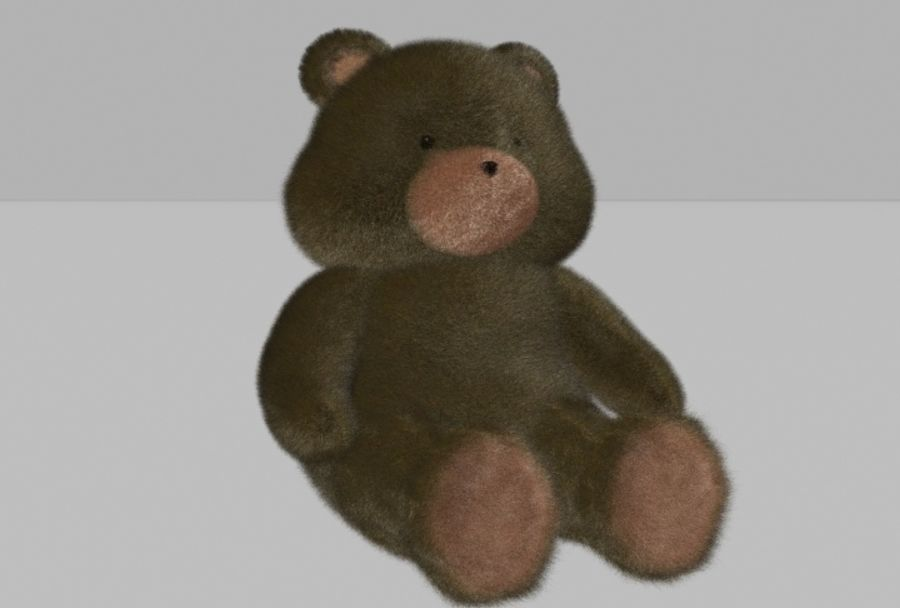 Teddy Bear royalty-free 3d model - Preview no. 1
