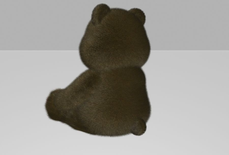 Teddy Bear royalty-free 3d model - Preview no. 5