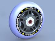 Inline wheel 3d model