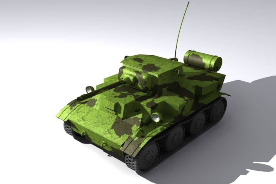 Tank royalty-free 3d model - Preview no. 1