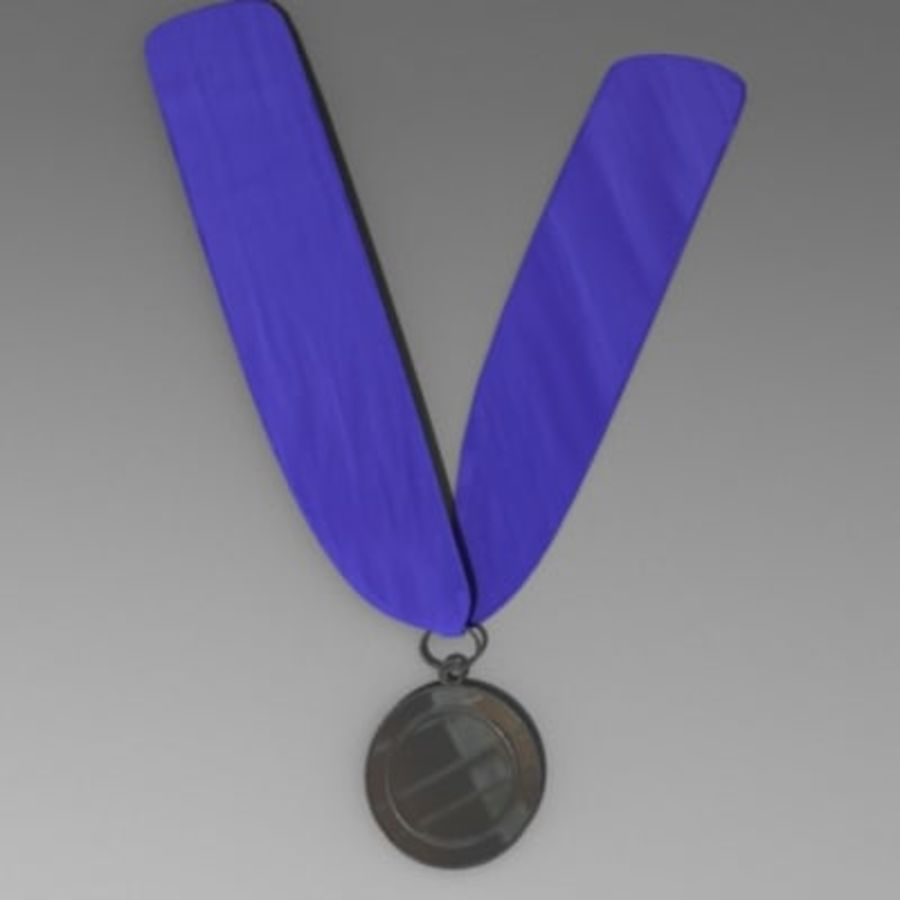 medal4.3ds royalty-free 3d model - Preview no. 3