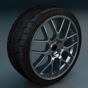 Wheel Y-spoke 3d model