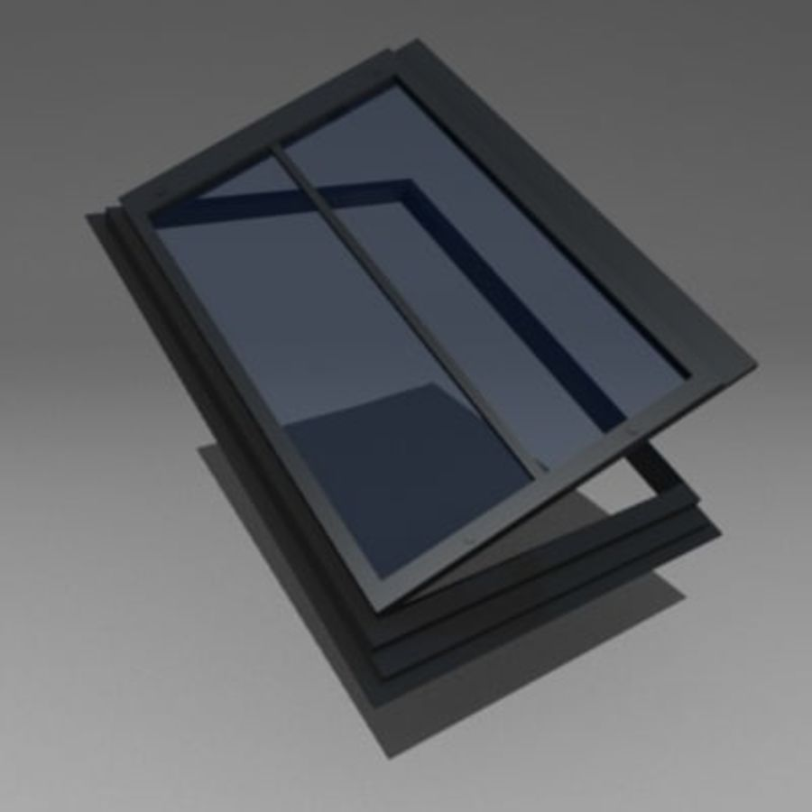 roof windows 3ds royalty-free 3d model - Preview no. 8