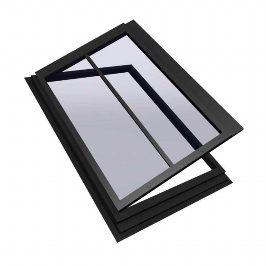 roof windows 3ds royalty-free 3d model - Preview no. 3