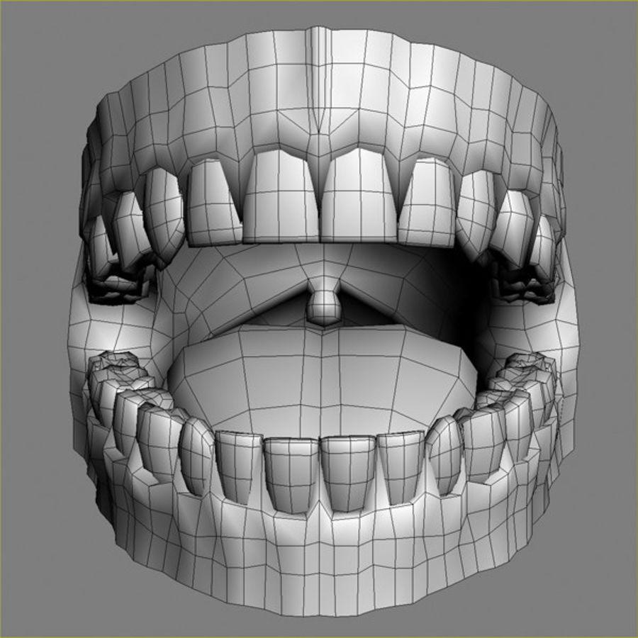 人类牙龈3d模型 royalty-free 3d model - Preview no. 7