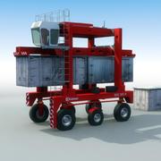 Transporteur de conteneur de navette 3d model