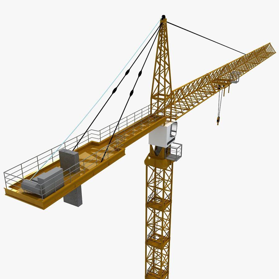Crane royalty-free 3d model - Preview no. 2