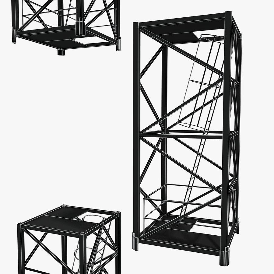 Crane royalty-free 3d model - Preview no. 11
