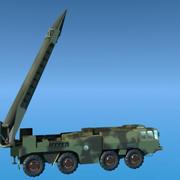 Scud Launcher 3d model