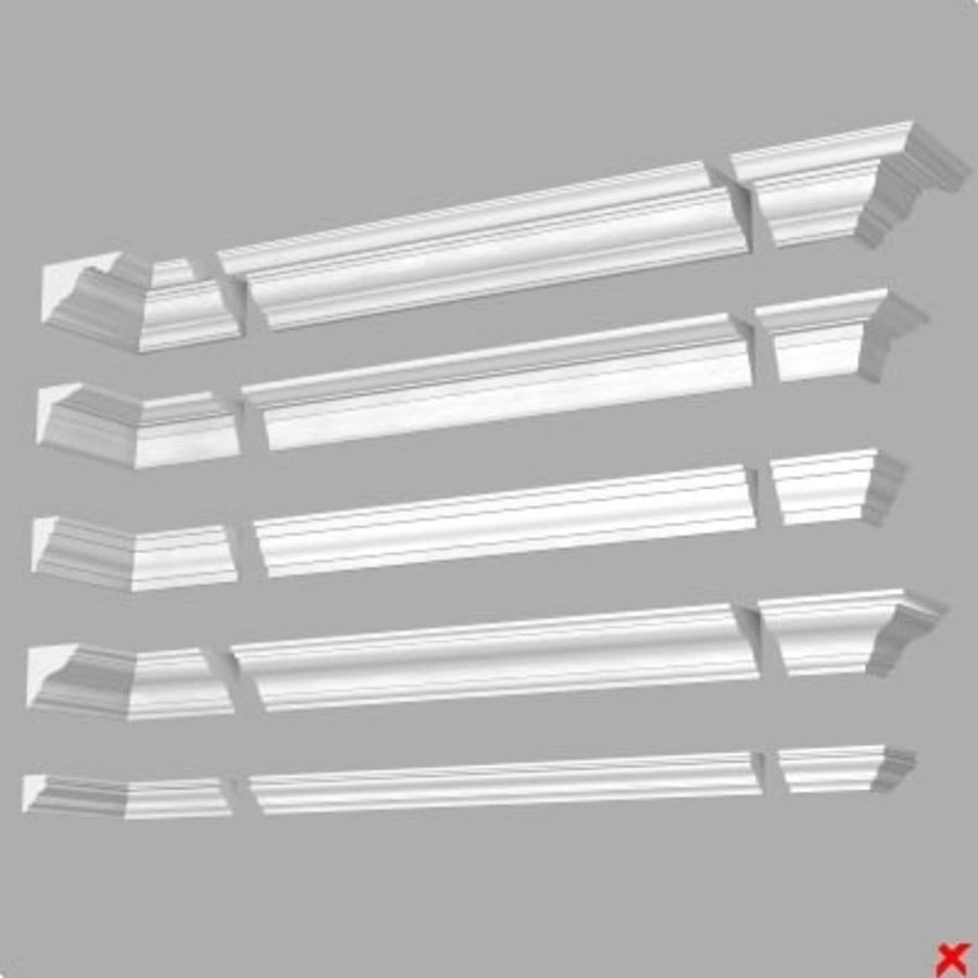 Cornice019.ZIP royalty-free 3d model - Preview no. 1