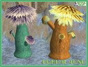 外星植物 -  Porhal Venu 3d model