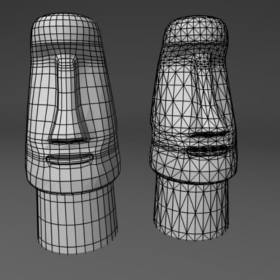 statue.3ds royalty-free 3d model - Preview no. 3