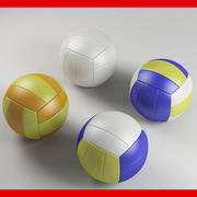 Volleyball Balls 3d model