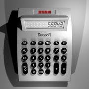 電卓 3d model