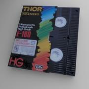 VHS+case 3d model