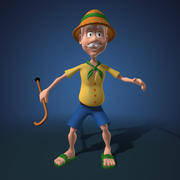 Grand-père de la bande dessinée 3d model
