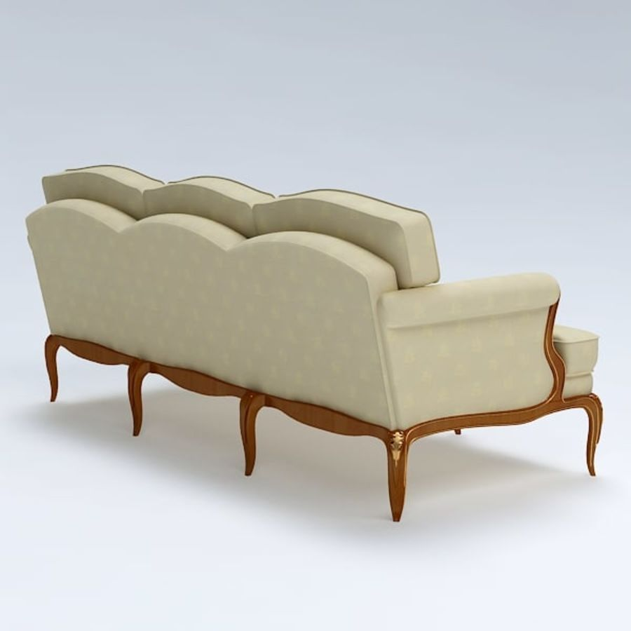 Sofa royalty-free 3d model - Preview no. 6