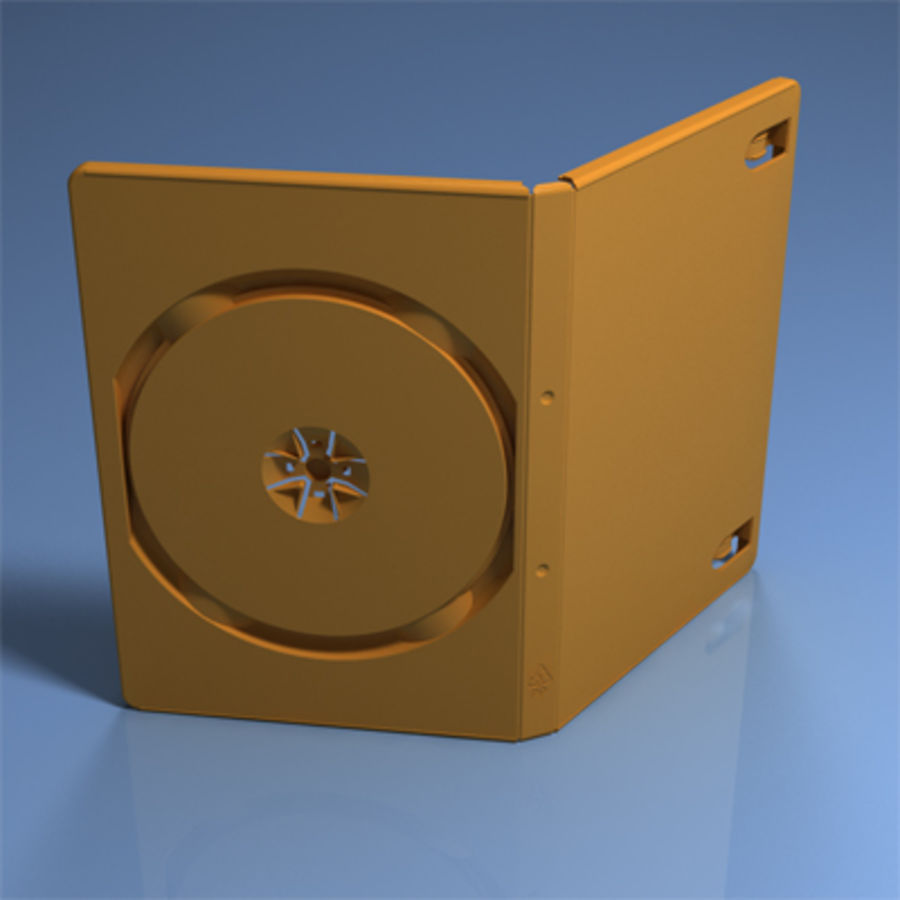 DVD Case royalty-free 3d model - Preview no. 2